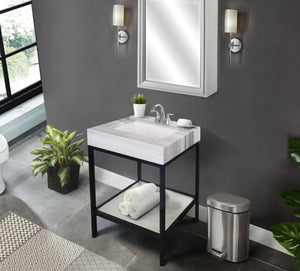 "Vaia 25"" Bathroom Vanity Set"