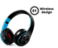 HOMEY WIRELESS HEADPHONE WITH MICROPHONE