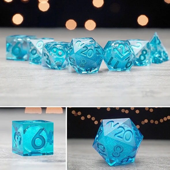 Gem dice set