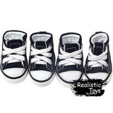 Emma Realistic Toys - Converse Dog Shoes-Pet Clothes-Emma Realistic Toys-XS-Emma Realistic Toys