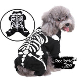 Emma Realistic Toys - Halloween pet dress up bone clothes-Clothes-Emma Realistic Toys-S-Emma Realistic Toys