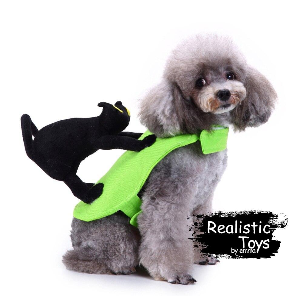 Emma Realistic Toys - Halloween pet rider character costume-Clothes-Emma Realistic Toys-Cat Rider-S-Emma Realistic Toys