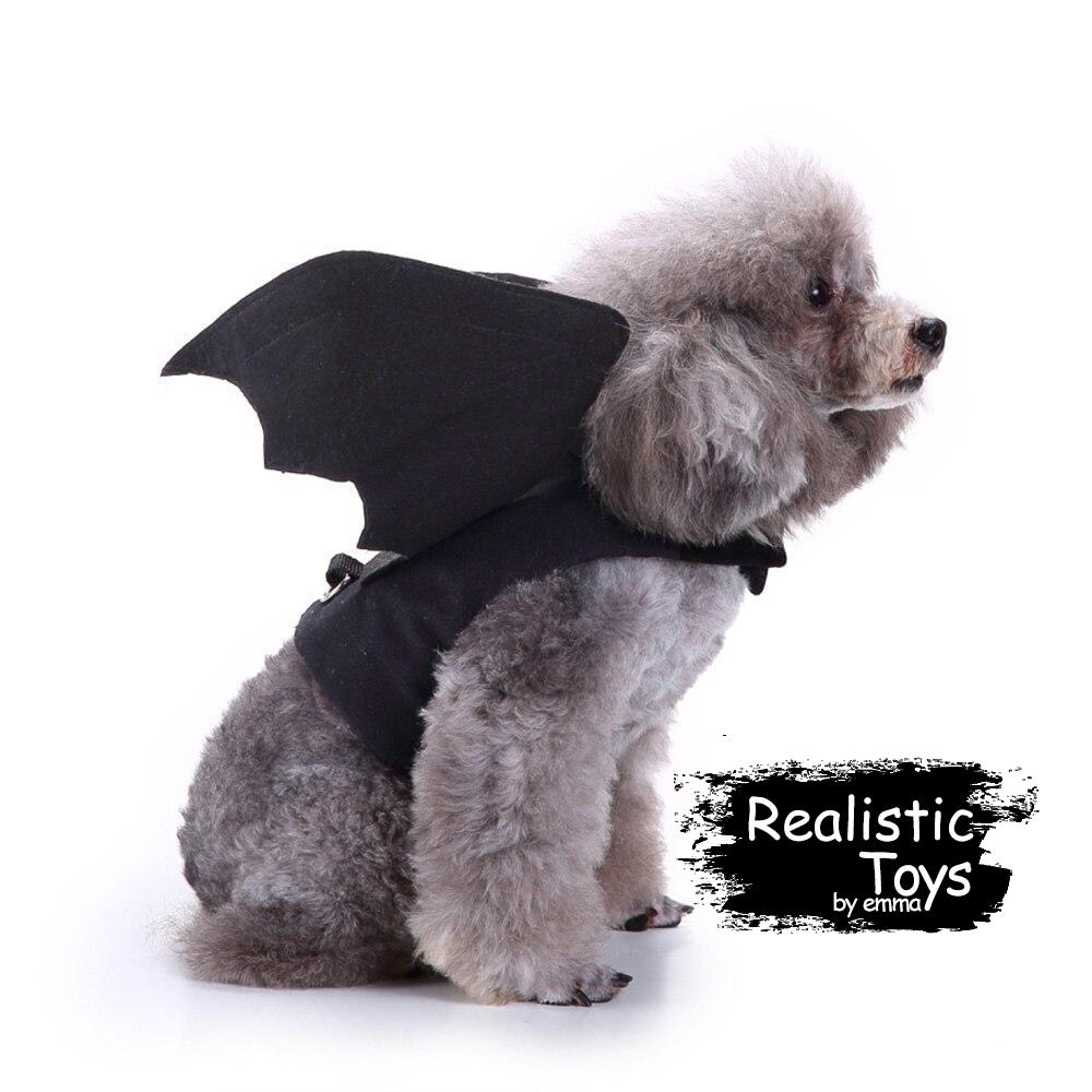 Emma Realistic Toys - Halloween pet rider character costume-Clothes-Emma Realistic Toys-Bat-S-Emma Realistic Toys