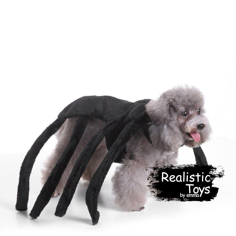 Emma Realistic Toys - Halloween pet rider character costume-Clothes-Emma Realistic Toys-Spider-S-Emma Realistic Toys