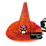 Emma Realistic Toys - Halloween Pet Witch Hat-Halloween Pet Decoration-Emma Realistic Toys-bat-Emma Realistic Toys