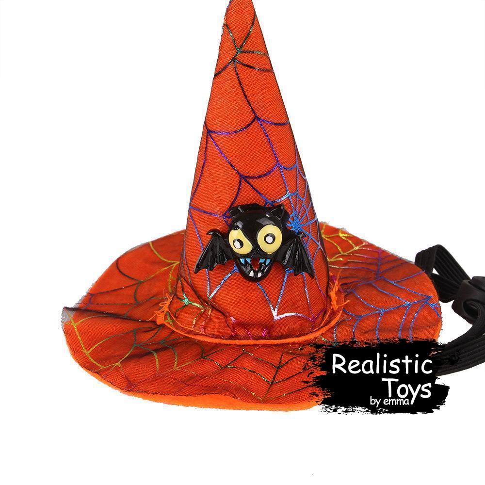 Emma Realistic Toys - Halloween Pet Witch Hat-Halloween Pet Decoration-Emma Realistic Toys-owl-Emma Realistic Toys