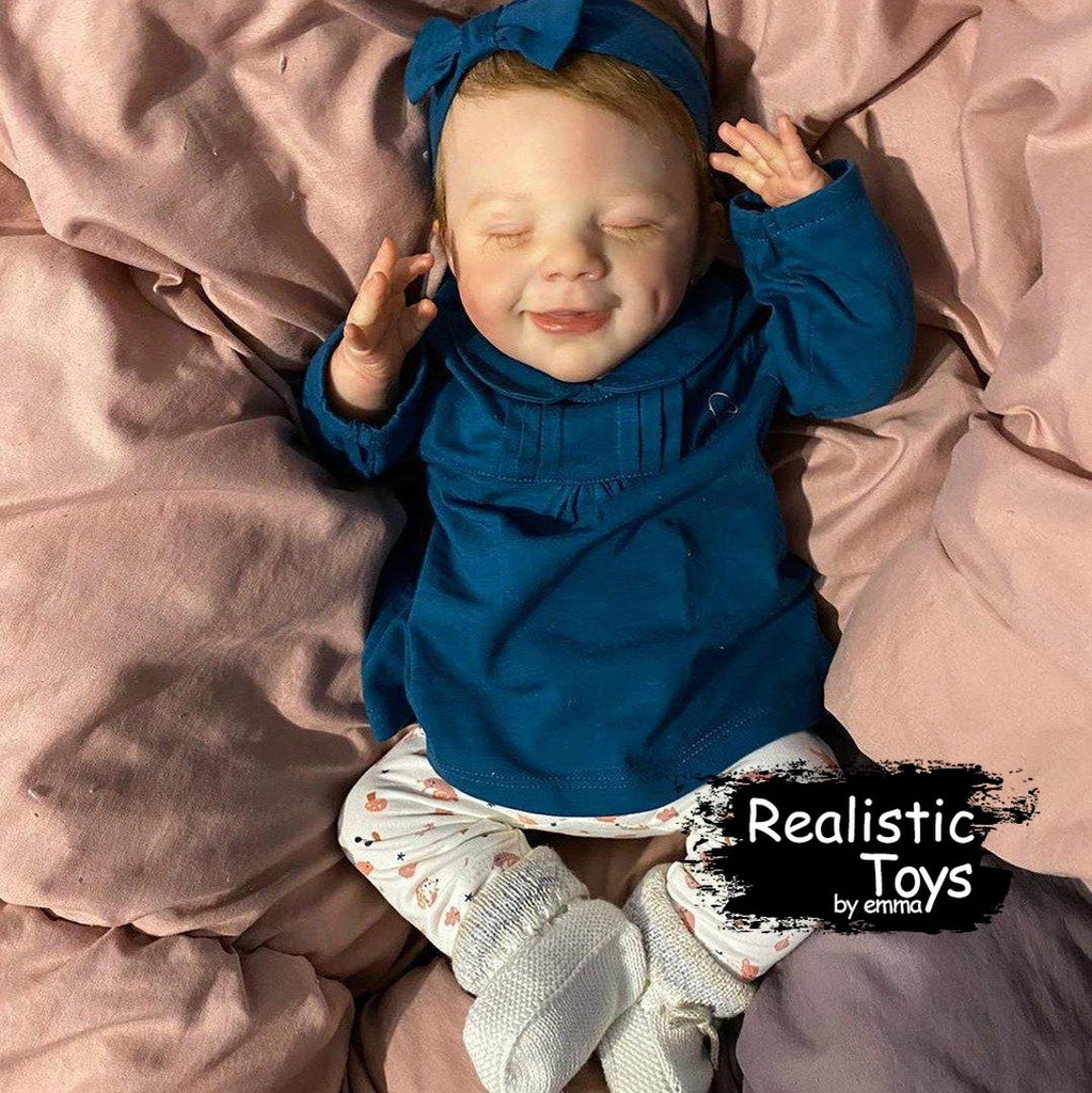 Little Alison Reborn Baby Doll-Emma Realistic Toys-emma realistic toys