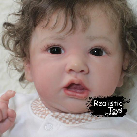 Little Flora Reborn Baby Doll girl-Emma Realistic Toys-emma realistic toys