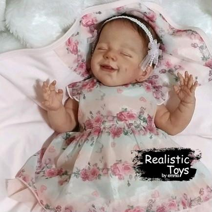 Little Kendall Reborn Baby Doll-Emma Realistic Toys-emma realistic toys
