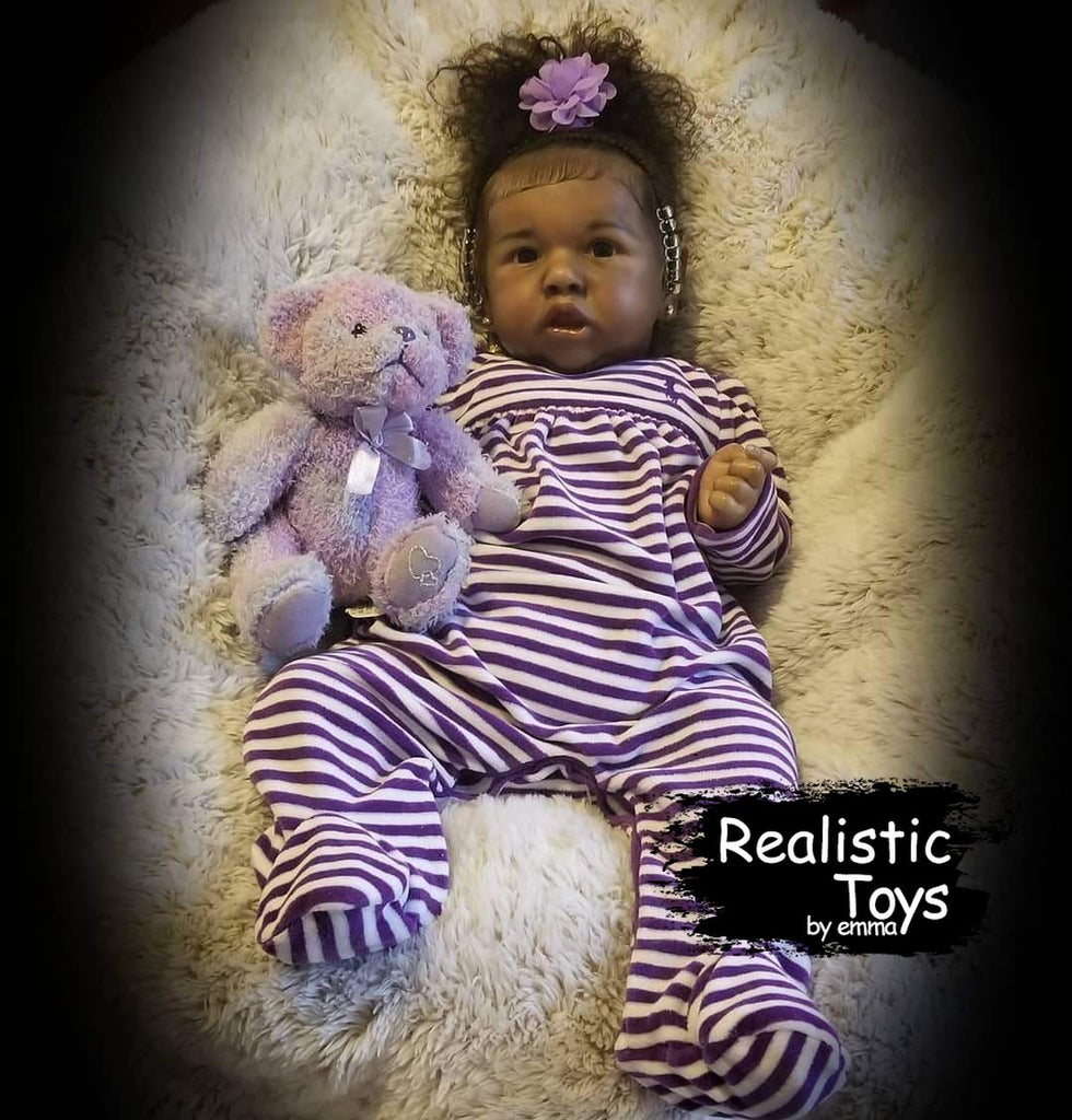 Real Life Reborn Baby Doll Girl Marlo That Look Real-Emma Realistic Toys-emma realistic toys