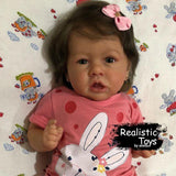 Reborn Baby Girl donna, Realistic Lifelike Handmade Doll Gift-Emma Realistic Toys-emma realistic toys