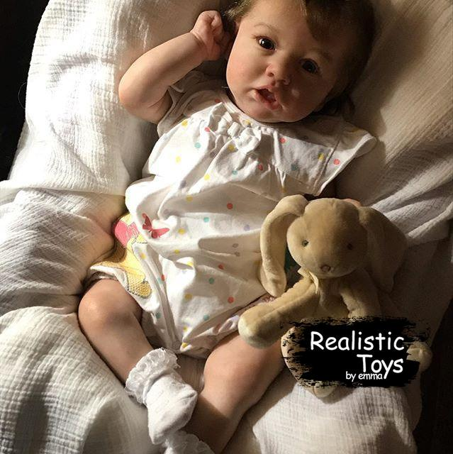 Sweet Audree Reborn Baby Doll Girl Realistic Toys Gift Lover-Emma Realistic Toys-emma realistic toys