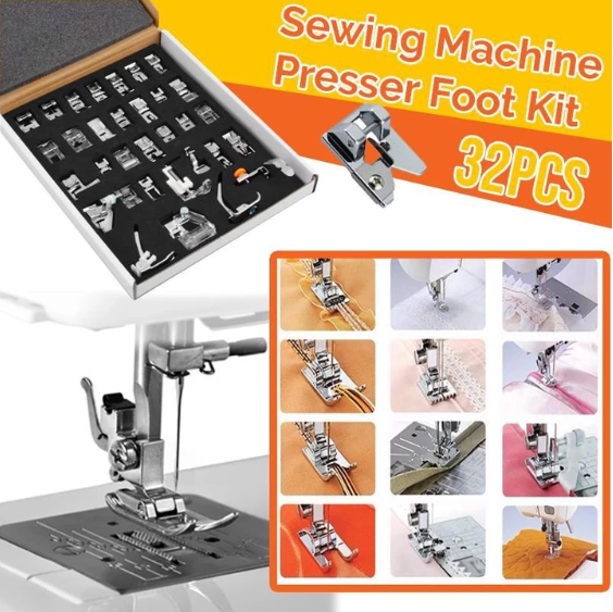 49%OFF Sewing Machine Presser Foot Kit- Mother's Day Sale🔥