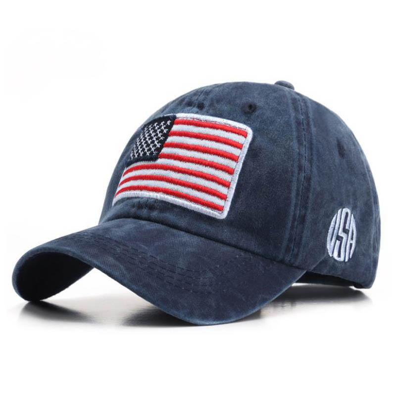 American flag outdoor sports cap