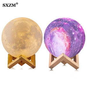 16 color  3D moon light