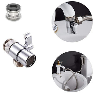 Bathroom Sink Faucet Sprayer Set