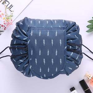 Lazy cosmetic bag portable travel storage bag