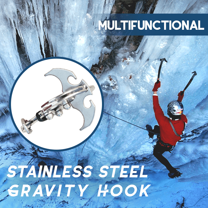 Multifunctional Stainless Steel Gravity Hook-Buy Two Free Shipping