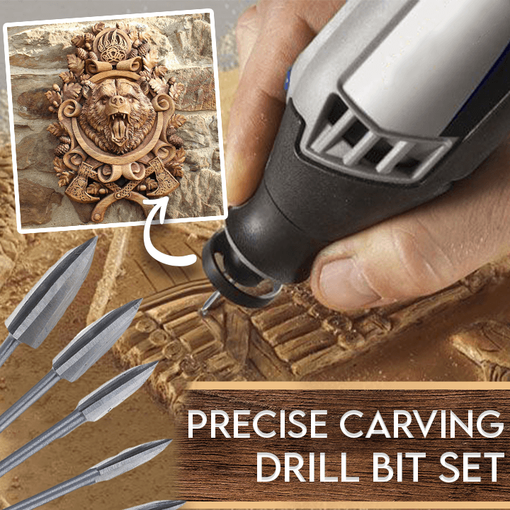 Precise Carving Drill Bit Set---Buy two get 10% OFF