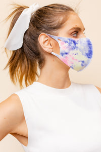 KIDS: BOLD TIE-DYE Mask-1Q-K (pack of 5)