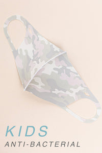 KIDS: CAMOUFLAGE Mask-1G-K (pack of 5)
