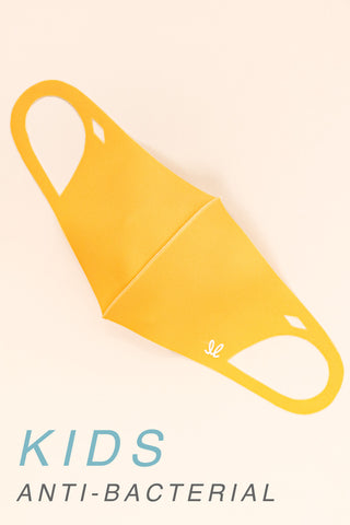KIDS: SOLID ORANGE - MASK-2001-K-OR (pack of 5)