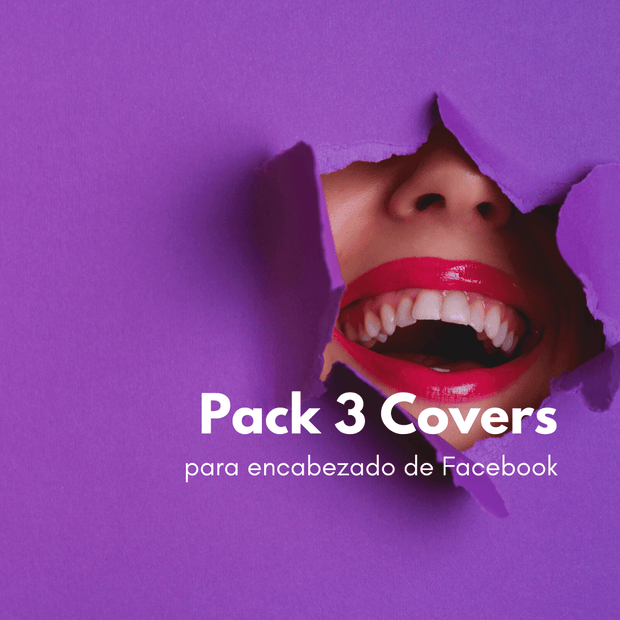 Pack 3 covers Facebook | Creatyvpost
