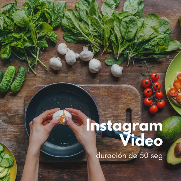 Video Instagram 50 Segs | CreatyvPost