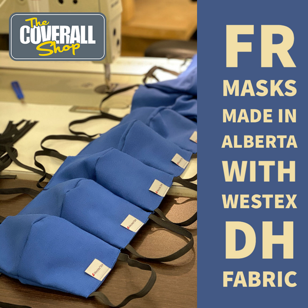 FR Mask with Westex DH Fabric, Made in Alberta