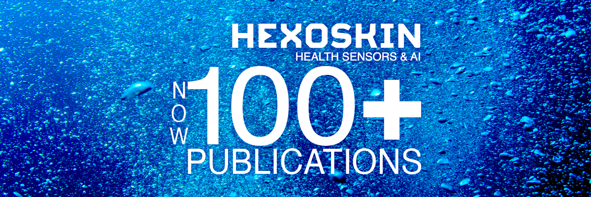 Hexoskin Health Sensors - Now 100 Publications and Validations - 2020
