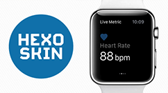 Hexoskin Wearable Metrics now available on Apple Watch