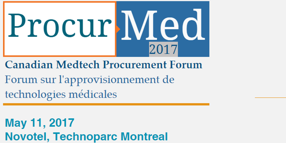 Procurmed 2017 Montreal Canada