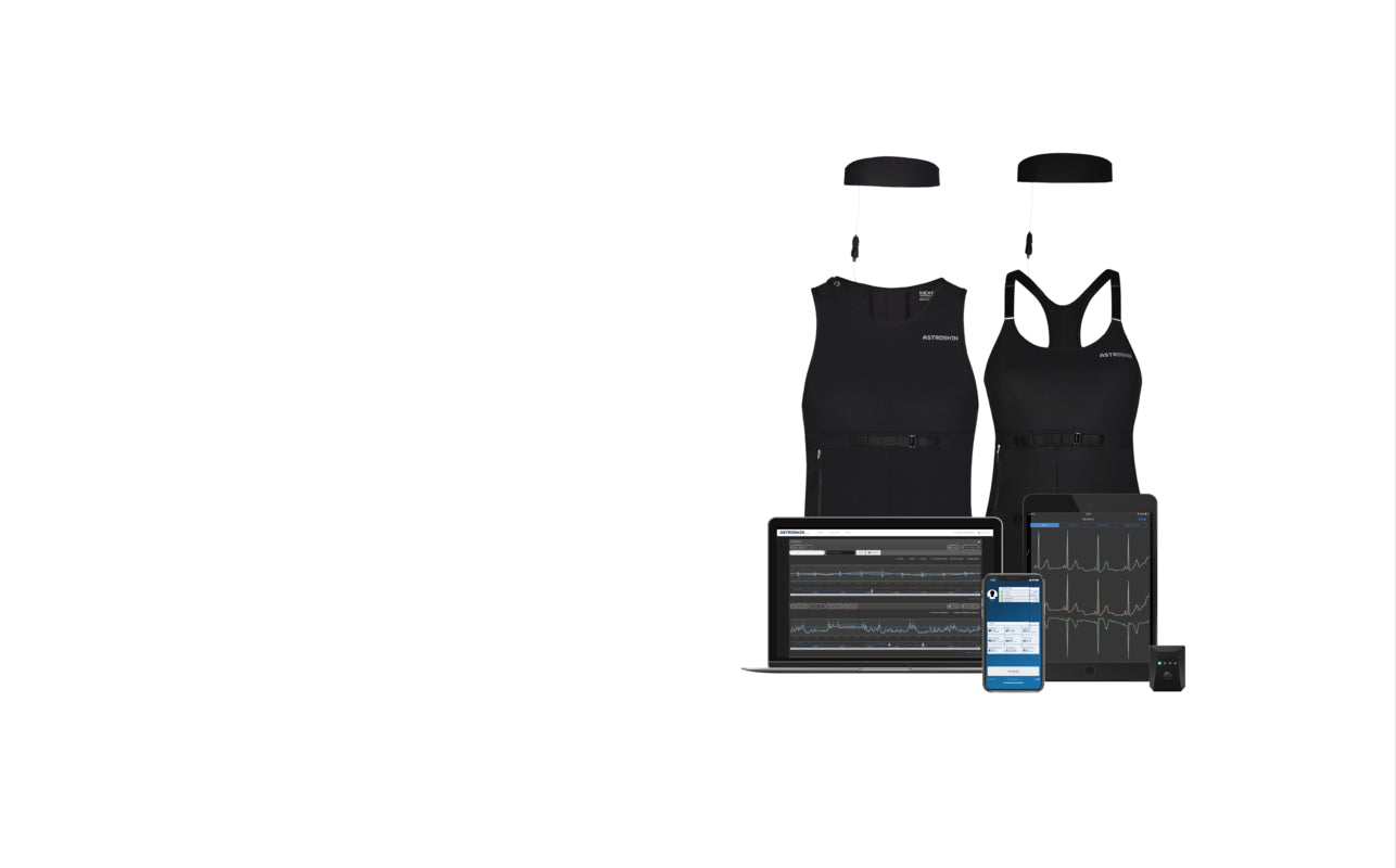 Hexoskin Smart Clothing - Continuous ECG, Respiratory, Activity Sensors