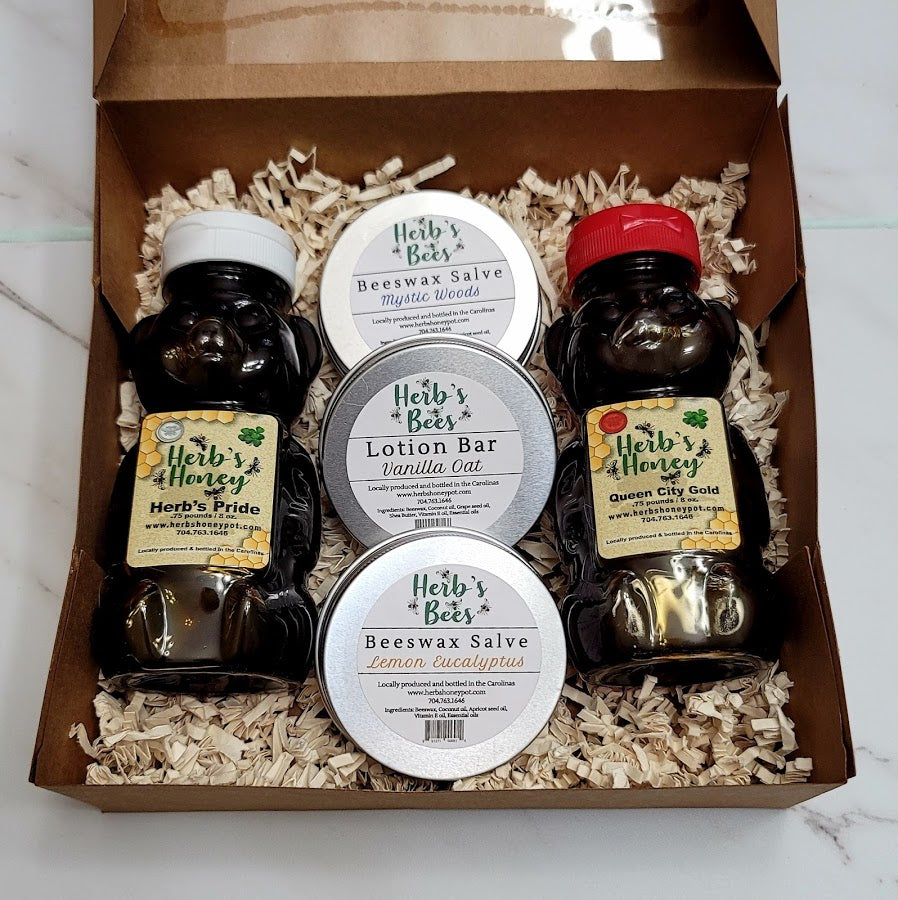 Herb's Honey Gift Box A