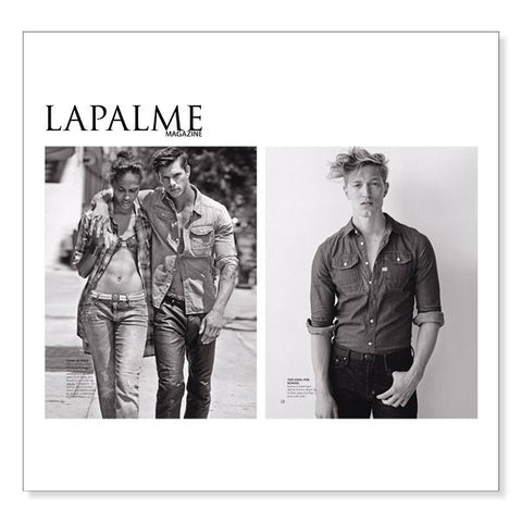 Jelt belts featured in LAPALME Magazine