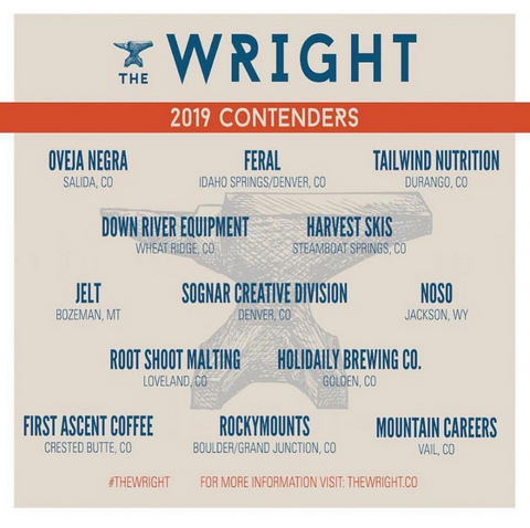 The Wright event poster from 2019