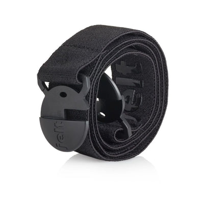 Jelt Youth elastic Belt in Granite Black. A belt made for kids 9 and up.