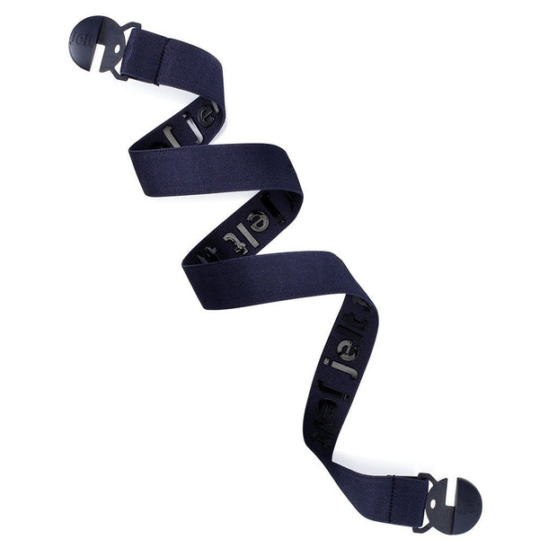 Jelt Youth Denim Navy Blue elastic belt. Made for youth sizes ages 9 and up.