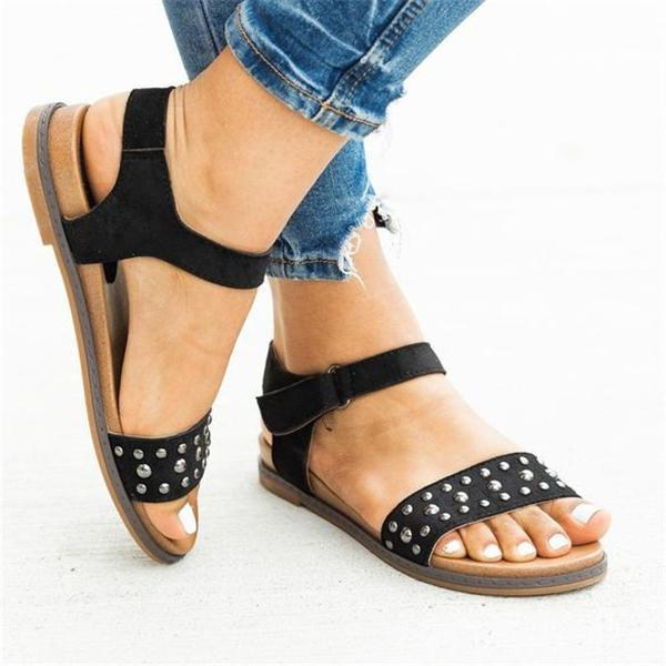 Susiecloths Studded Everyday Fashion Sandals