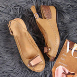 Susiecloths Comfortable Casual Wedge Heel Sandals