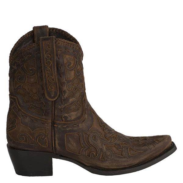 Susiecloths Classic Vintage Faux Leather Western Boots