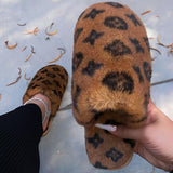 Susiecloths Printed Plush Fashion Slippers