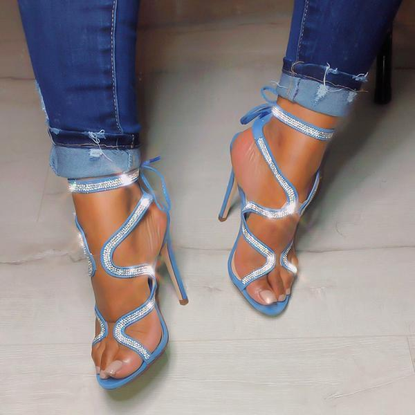 Susiecloths Ribbon Drill High Heel Sandals