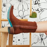 Susiecloths Soft Suede Bootie Women Comfort Ankle Boots