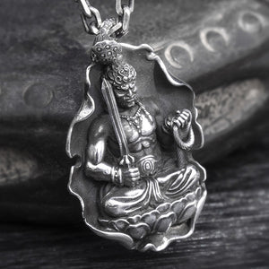 Buddha Collection Pure 999 Silver Pendant (3)