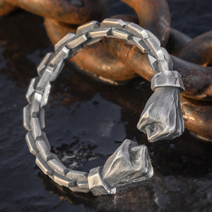 Power Fist Pure 999 Silver Bangle (18)