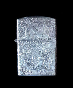Vintage Pure Silver ZIPPO Lighter Case (7)