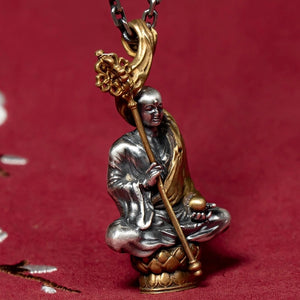 Buddha Collection Pure 999 Silver Pendant (14)