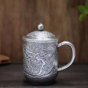 Dragon Pure 999 Silver Cup