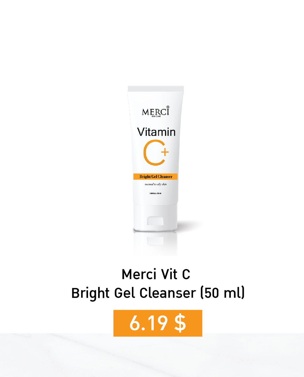 MERCI VITAMIN C Bright Gel Cleanser